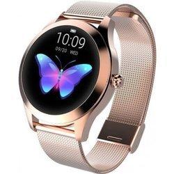 Zegarek - Smartwatch Damski Garett Women Naomi złoty stalowy