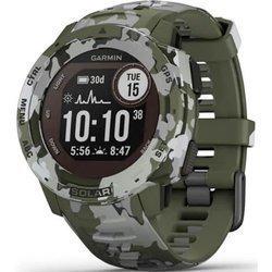 Zegarek - Smartwatch Garmin Instinct Solar Camo Edition zielony
