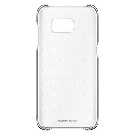 Etui Clear Cover do Samsung Galaxy S7 edge Black Czarny