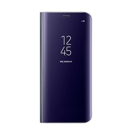 Etui Clear View Standing Cover do Galaxy S8 Violet, fioletowy
