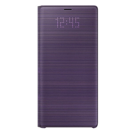 Etui LED View Cover do Samsung Note 9 lawendowe