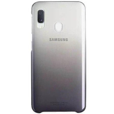 Etui do Samsung Galaxy A20e Gradation Cover czarne