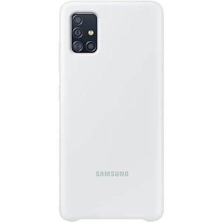 Etui do Samsung Galaxy A51 silikonowe białe