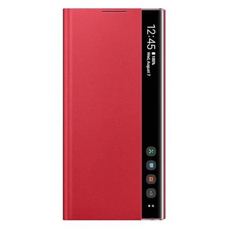 Etui do Samsung Galaxy Note 10 czerwone z klapką