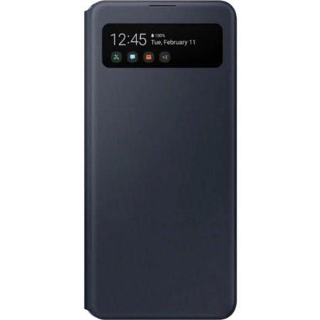 Etui z klapką do Samsung Galaxy A41 czarne