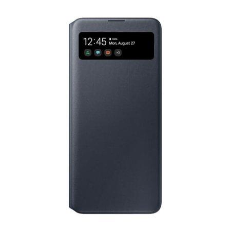 Etui z klapką do Samsung Galaxy A71 czarne