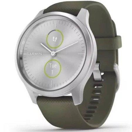 Garmin Vivomove Style srebrny/zielony