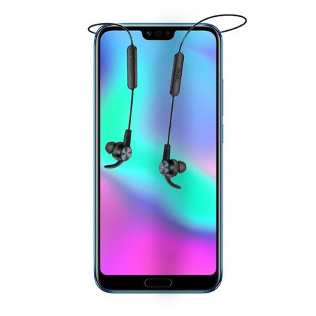 Honor 10 4/64GB Phantom Blue niebieski + słuchawki AM61 czarne