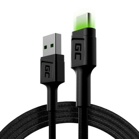 Kabel LED Green Cell GC Ray USB-USB typ C 1,2m