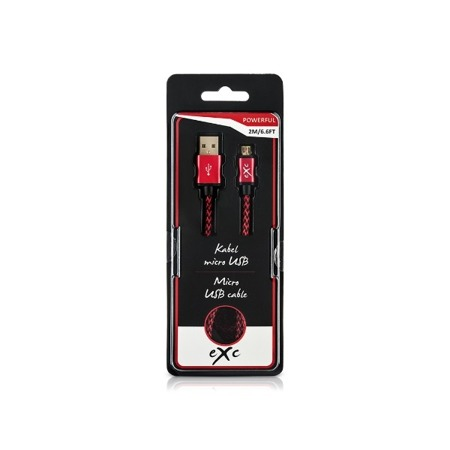 Kabel eXc POWERFUL USB microUSB mix