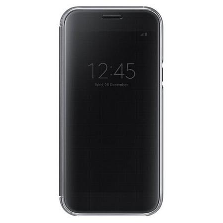 Samsung Etui Clear View do A5 (2017) Czarny