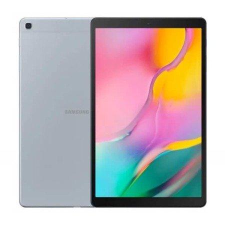 Samsung Galaxy Tab 10.1 (2019) Wi-Fi srebrny + Karta pamięci
