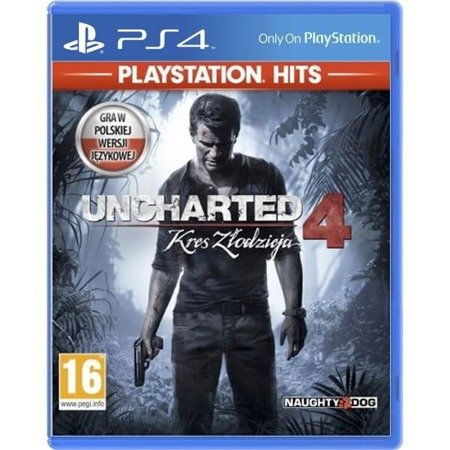 Uncharted 4: A Thief's End HITS PS4 PL
