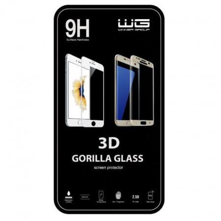 WG iPhone 7/8 Szkło Hartowane 3D czarne