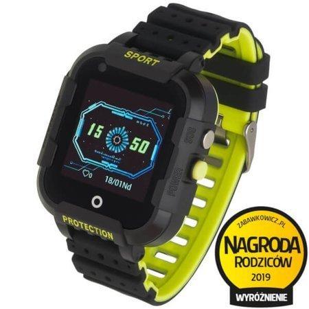 Zegarek - Smartwatch dla dzieci Garett Kids 4G czarny