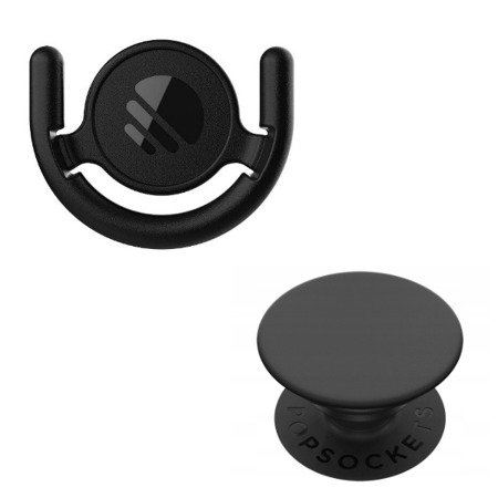 Zestaw PopSockets Combo Pack Mount + Black PopSocket Grip
