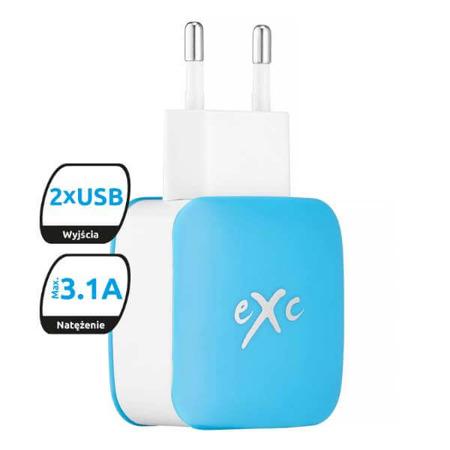 eXc SHINE niebieska