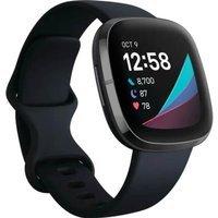 Zegarek - Smartwatch Fitbit Sense czarny